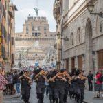 Concerto della Fanfara di Roma a Porta Pia