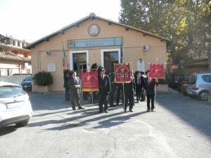 5 novembre 2015. Commemorazione partenza 2°  Rgt