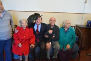 8 dic 2018 auguri anziani S. Francesca Romana