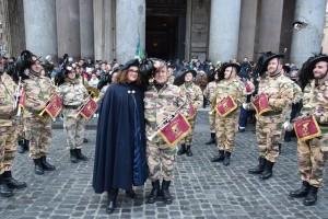 15 gennaio 2017. Guardie D'Onore Pantheon