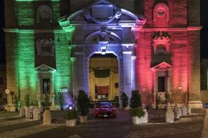 settembre 2017 4^ edizione Luci della Storia su Porta Pia