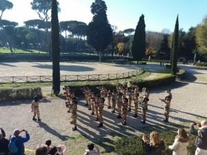 18 dicembre. A piazza di Siena x Telethon