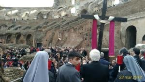 23 mar 2018 Via Crucis Colosseo