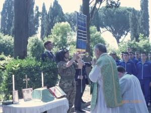 Commemorazione Rgt paracadutisti al Verano 7 giugno